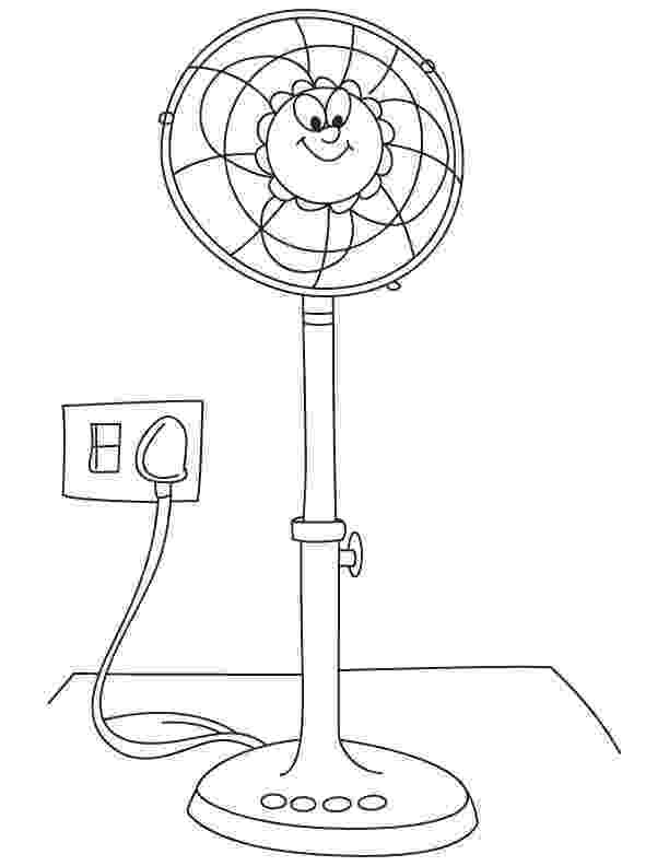 fan coloring pages electric fan coloring pages fan coloring pages 1 1