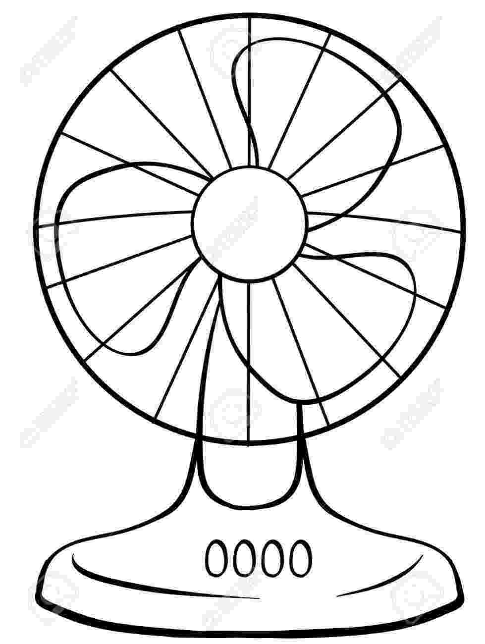 fan coloring pages electric fan drawing at getdrawingscom free for coloring fan pages
