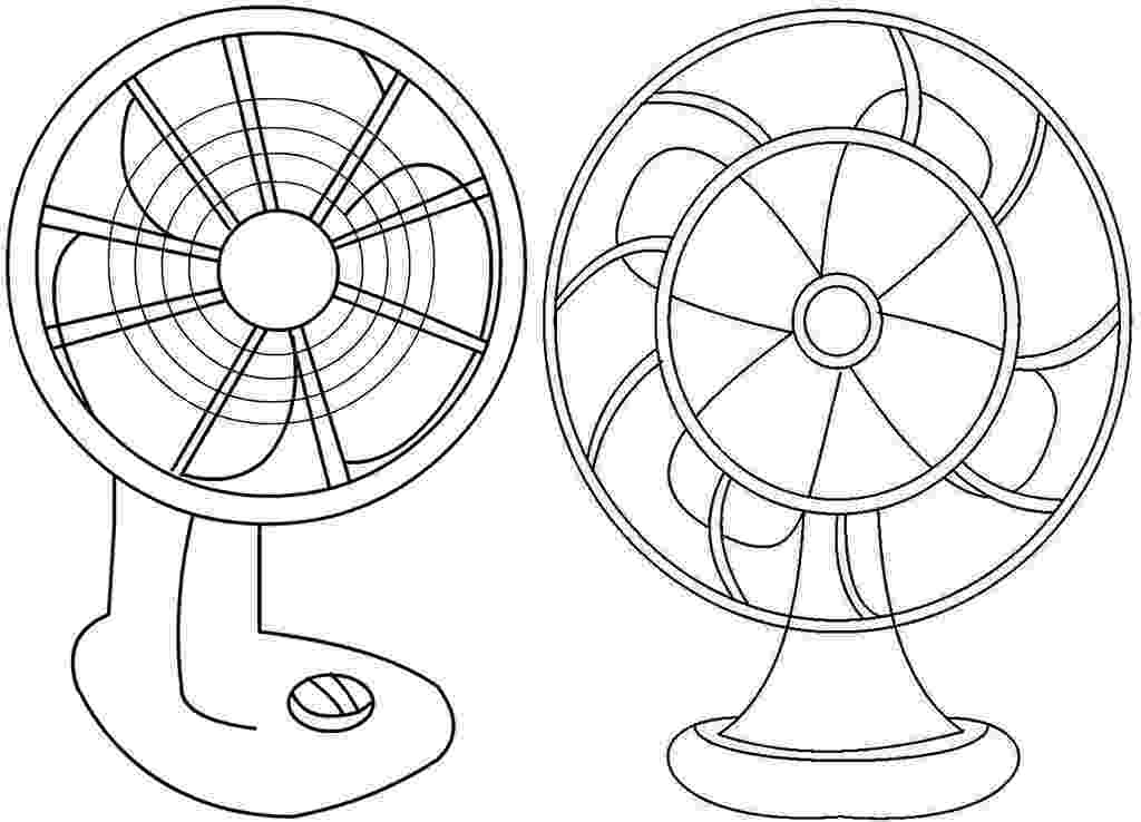 fan coloring pages table fan clipart coloring page fan pages coloring