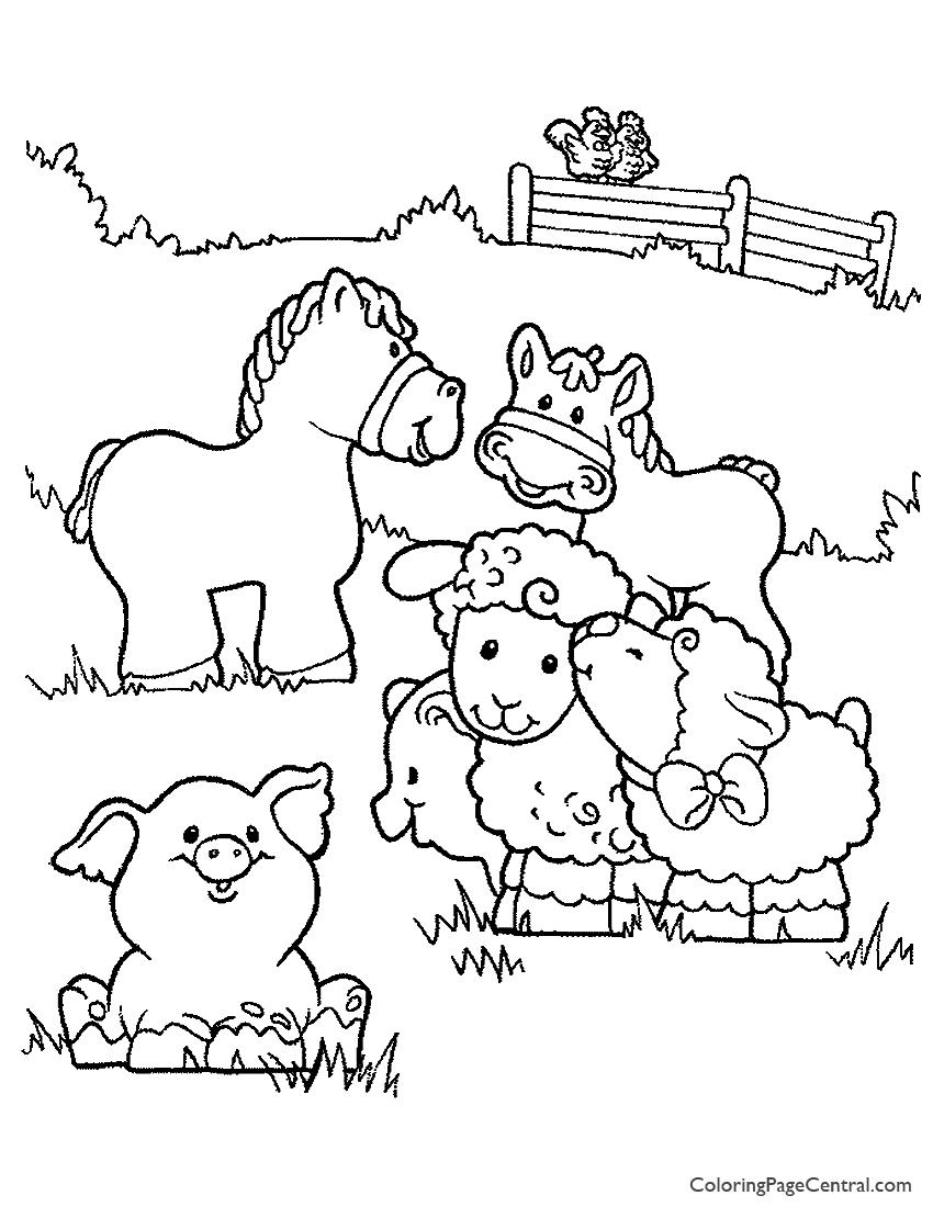 farm animal horse coloring pages coloriage cheval ferme sur hugolescargotcom animal coloring pages farm horse