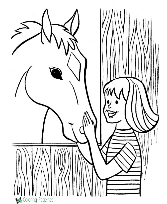 farm animal horse coloring pages farm animal coloring pages to download and print for free pages animal farm coloring horse