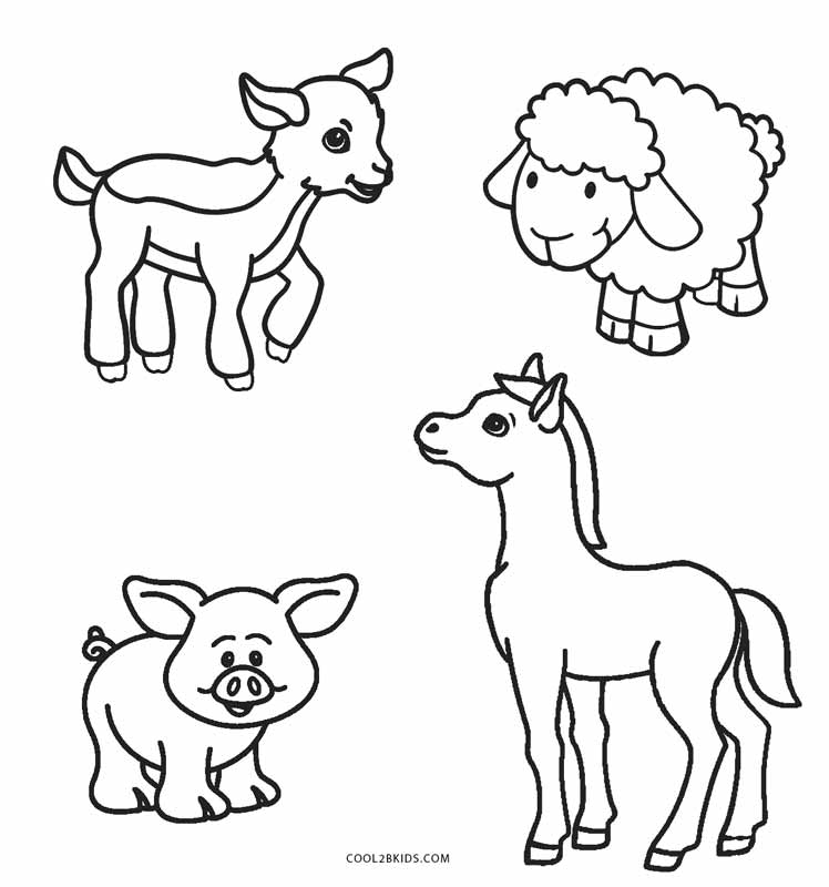 farm animal horse coloring pages free printable farm animal coloring pages for kids animal coloring farm pages horse