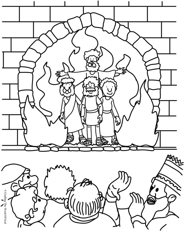 fiery furnace coloring page fiery furnace crafting the word of god coloring page fiery furnace