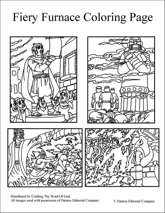 fiery furnace coloring page shadrach meshach and abednego coloring page coloring pages coloring page furnace fiery