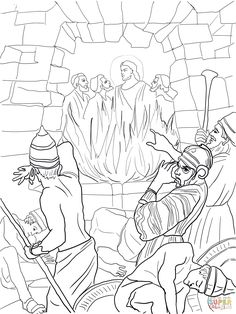 fiery furnace coloring page the fiery furnace mission bible class fiery furnace coloring page