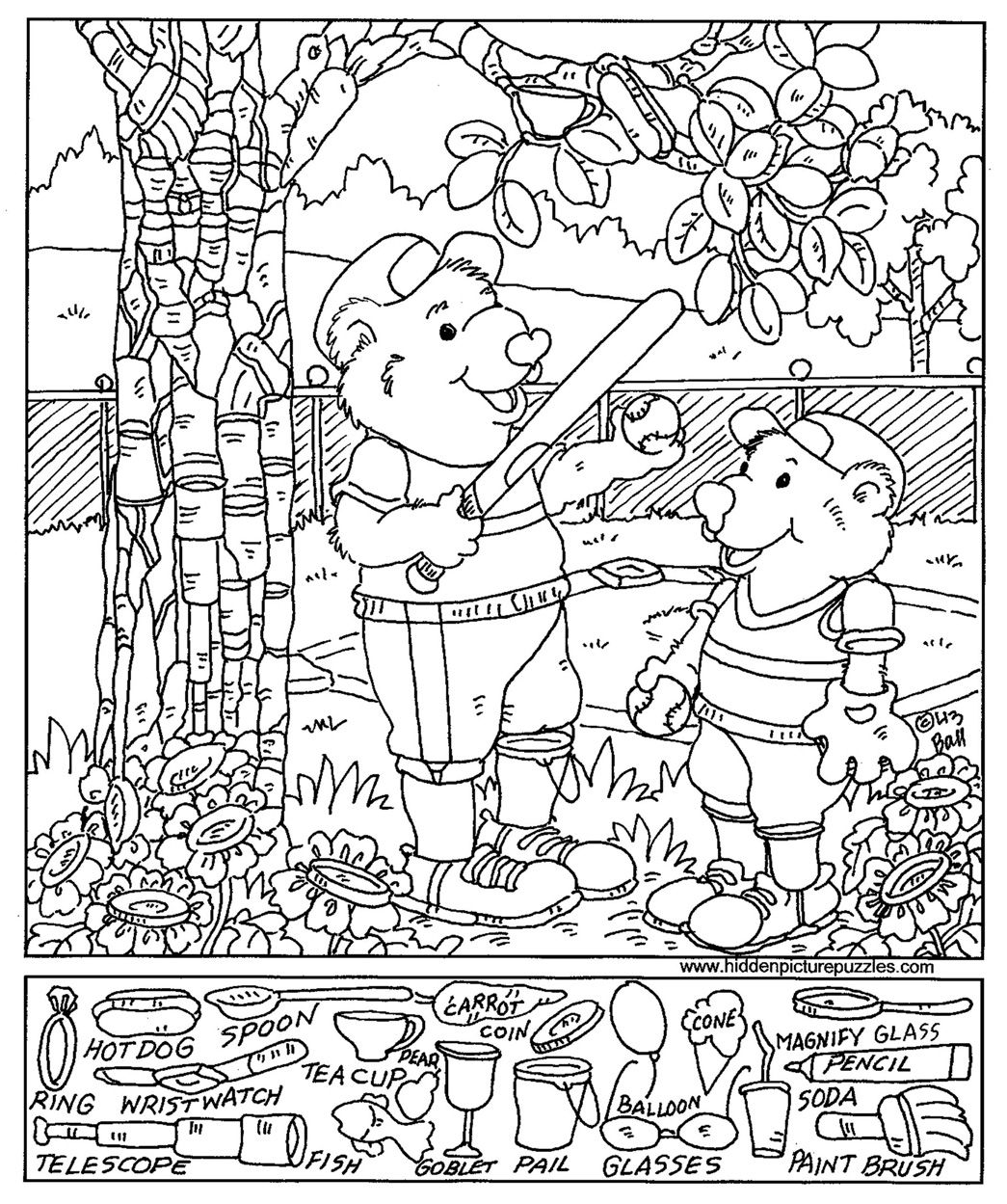 find the object games printable topsy turvy land activities coloring pages poetry and find object the games printable