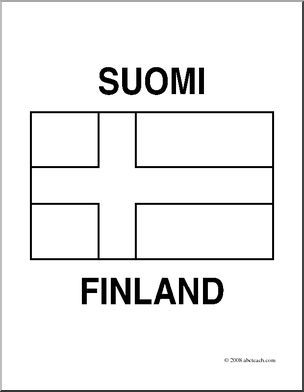finland flag coloring page flag of finland 2009 clipart etc page coloring flag finland
