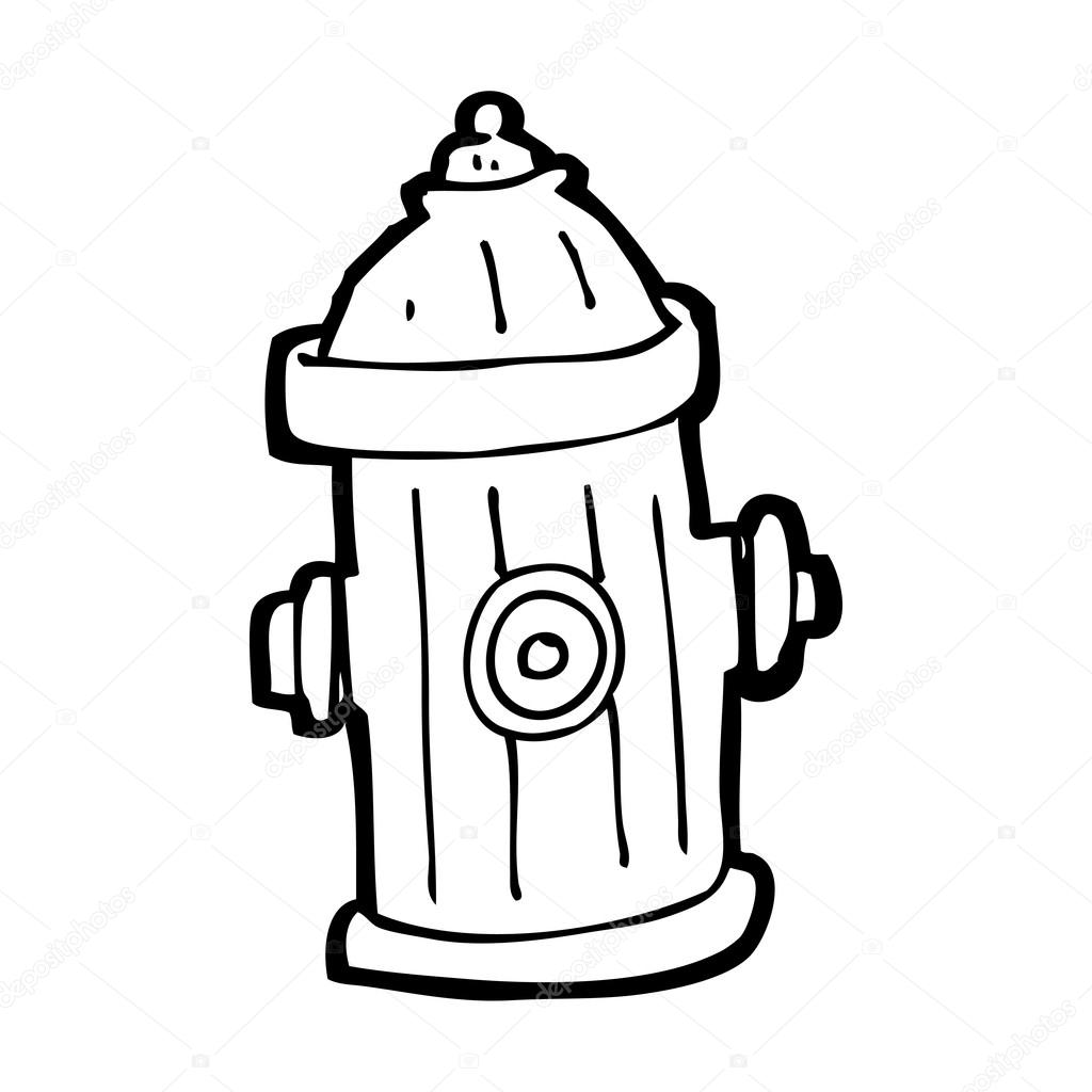 fire hydrant coloring page learn how to draw fire hydrant everyday objects step by coloring page fire hydrant