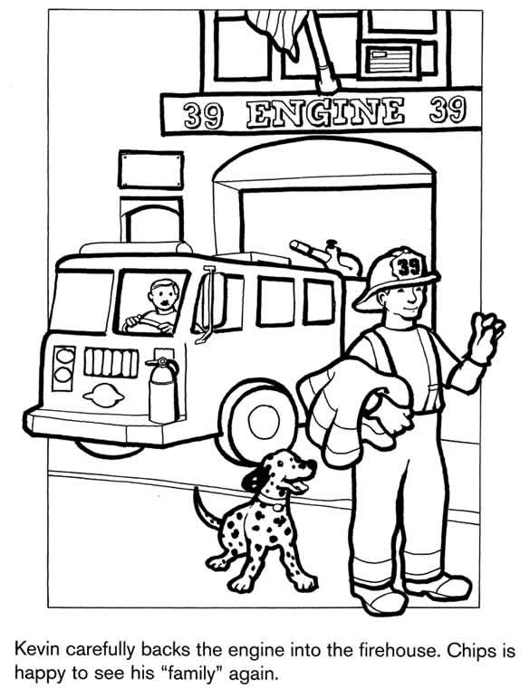 fire station coloring page fire station 4 buildings and architecture printable coloring page station fire