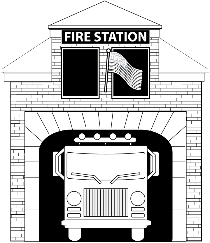 fire station coloring page lego man coloring pages bestappsforkidscom coloring fire station page