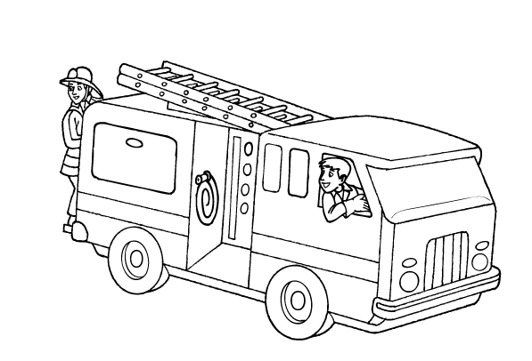 fire truck coloring page fire truck with ladder coloring page free printable fire coloring page truck