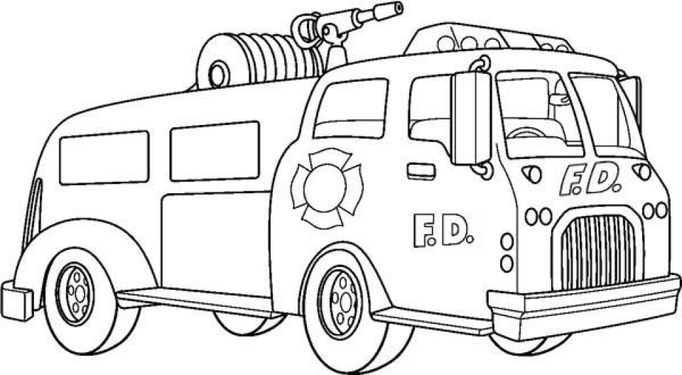 fire truck coloring page free printable fire truck coloring pages for kids page coloring truck fire