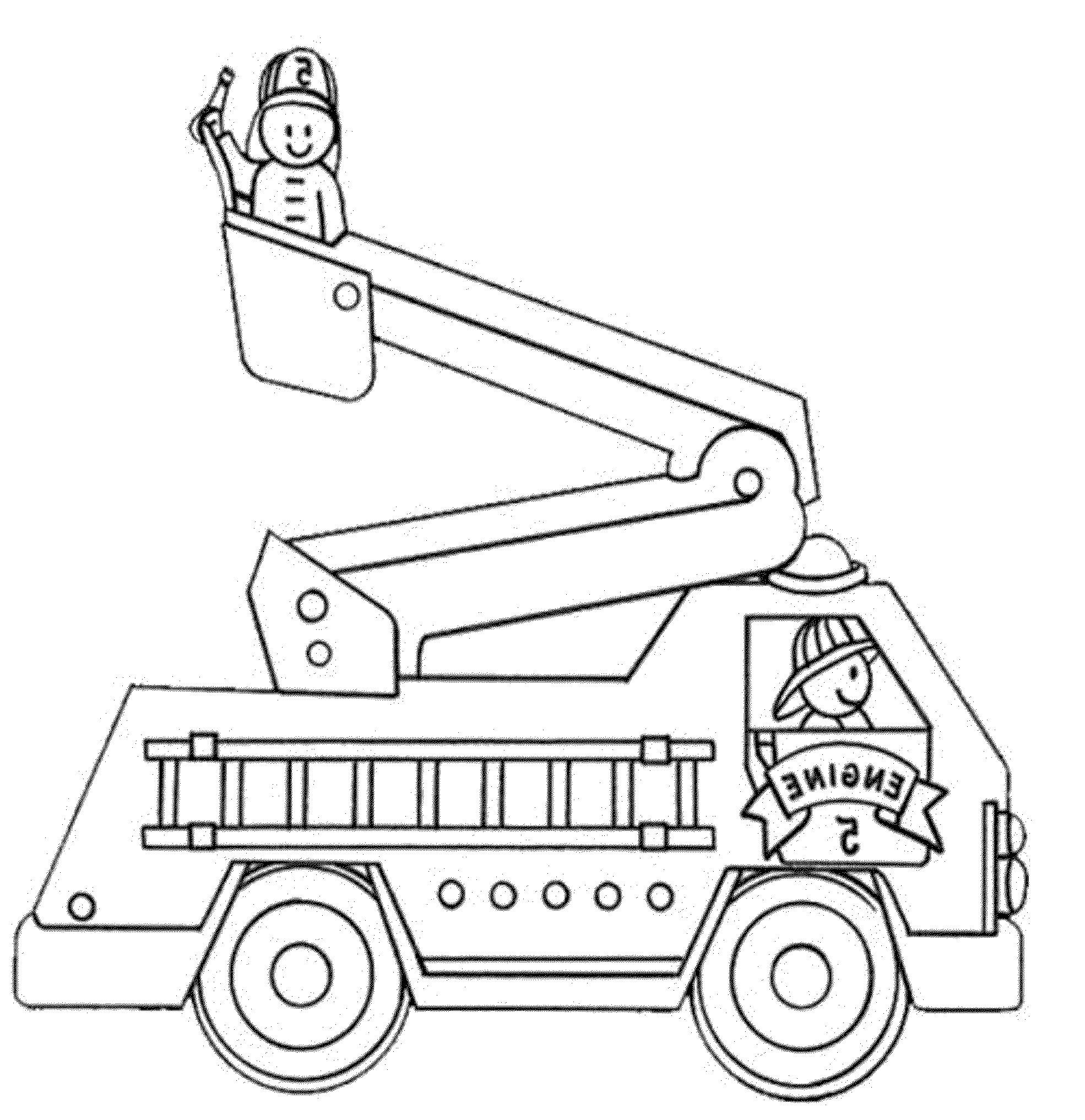 fire truck coloring pictures fire truck coloring page tracing twisty noodle coloring pictures fire truck