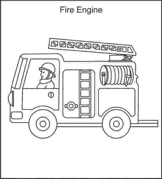 fire truck coloring pictures fireman at work coloring page free printable coloring pages truck fire pictures coloring
