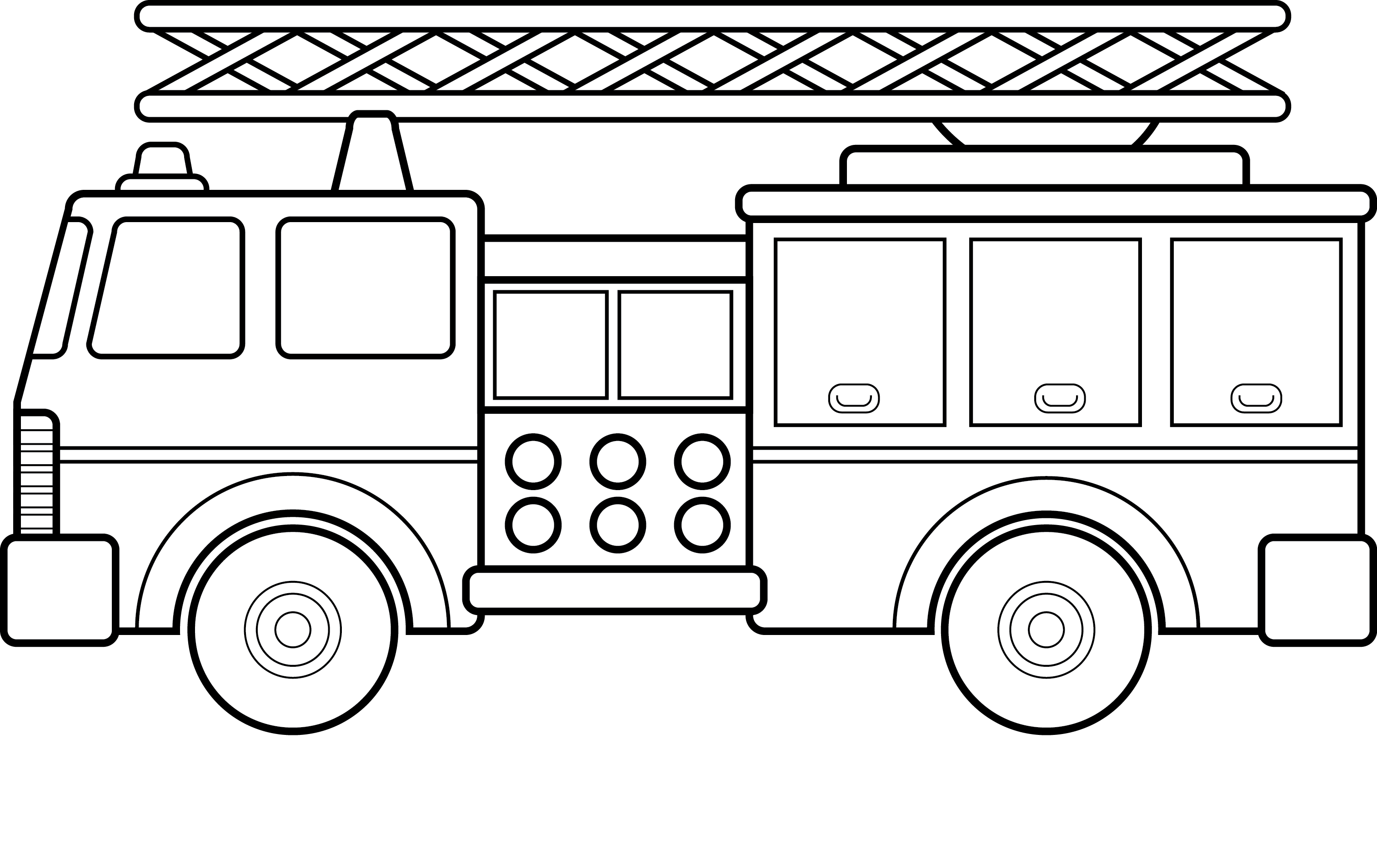 fire truck coloring pictures free printable fire truck with 2 person coloring pages for truck coloring fire pictures