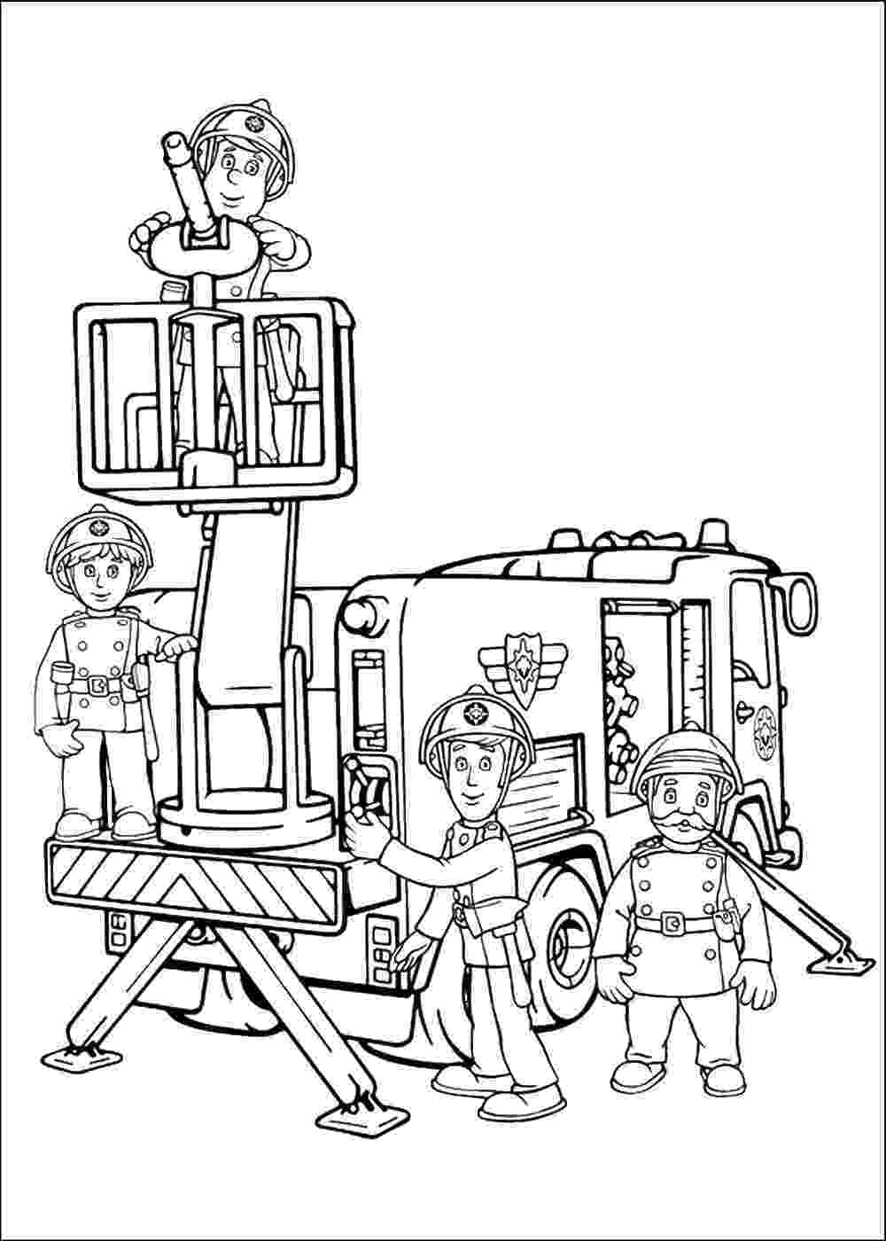 fireman sam coloring pages fireman sam coloring pages fireman coloring pages sam