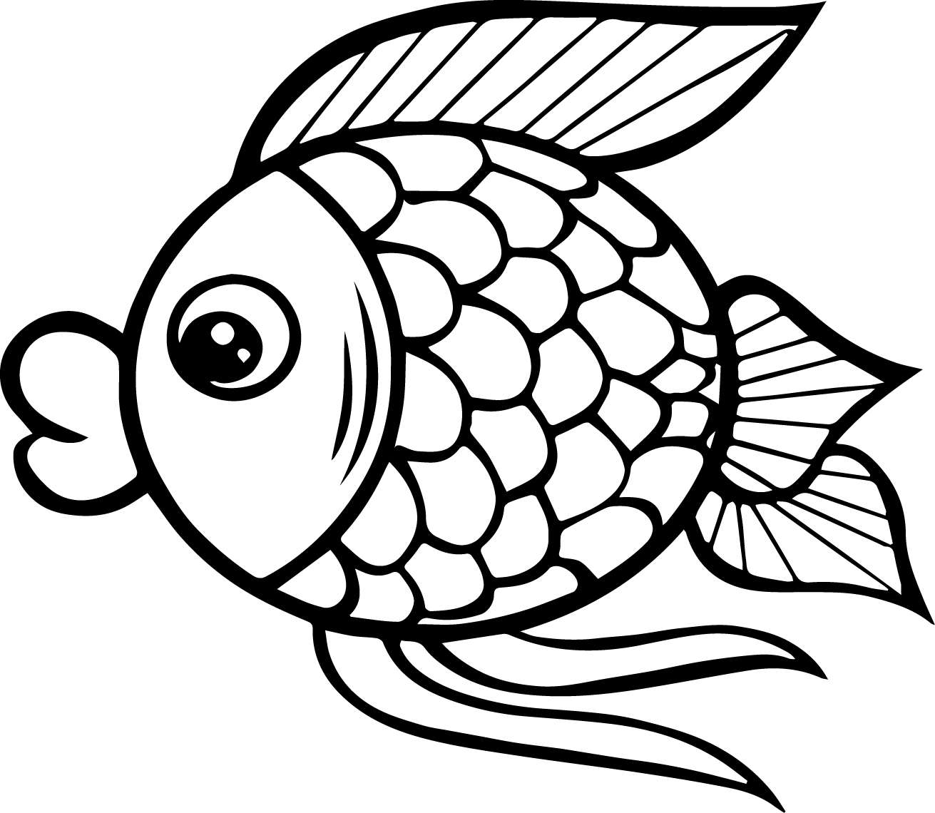 fish color kids n funcom 41 coloring pages of fish fish color