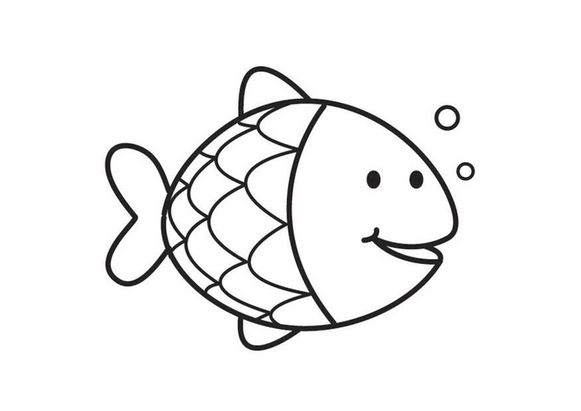 fish color print download cute and educative fish coloring pages color fish 1 1