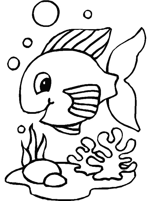fish color simple fish coloring pages download and print for free fish color