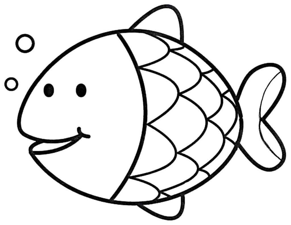 fish coloring for kids coloring pages amazing fish coloring pages for kids fish fish coloring for kids