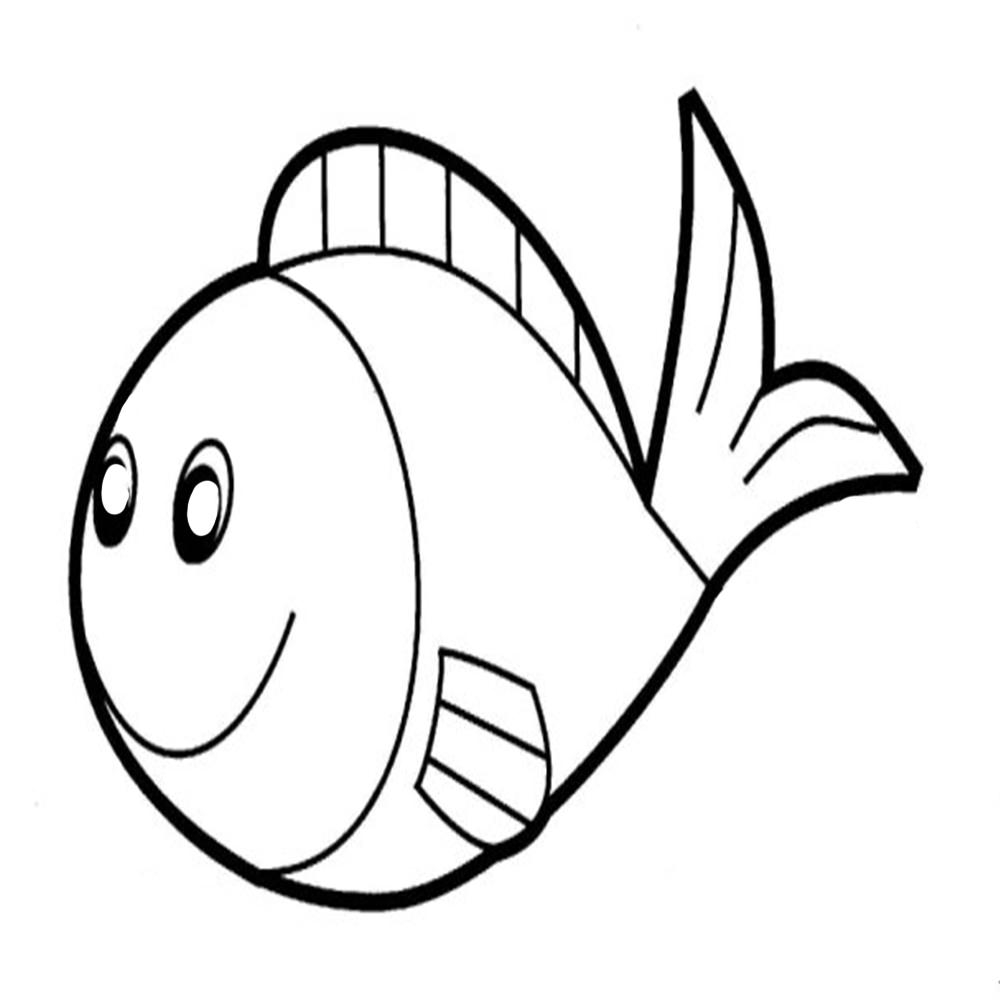 fish printable cute fish coloring pages for kids from the finding nemo printable fish