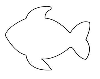 fish printable fish template printable fish