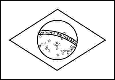 flag of brazil to color brazil flag coloring page coloring home to flag brazil color of