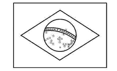 flag of brazil to color brazil flag coloring sheet to color flag brazil of