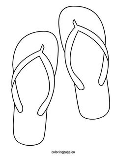 flip flop coloring page 12 coloring pages of flip flop print color craft flip page flop coloring
