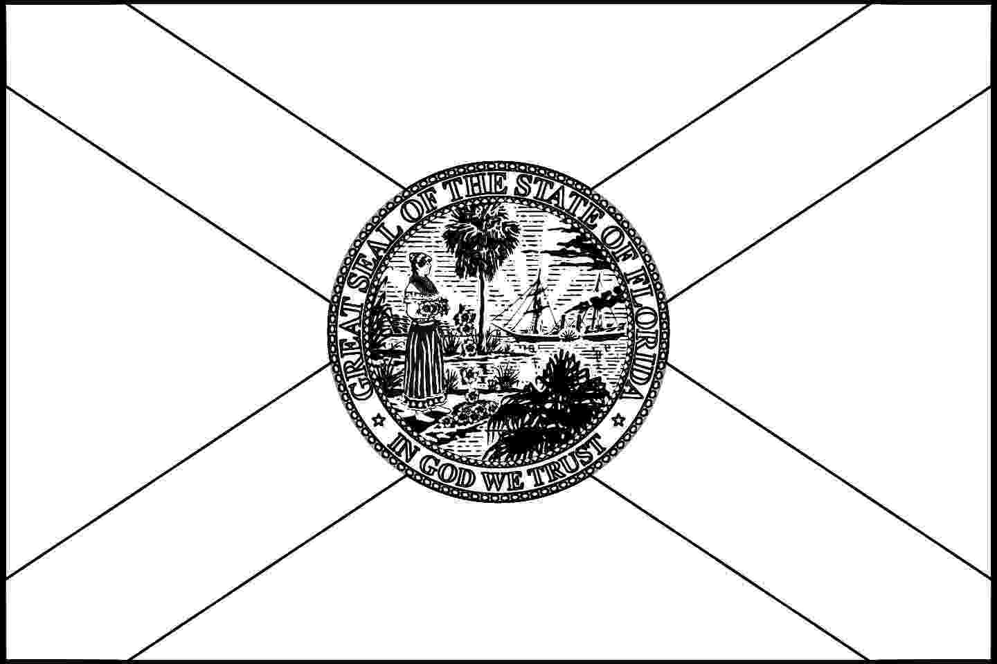 florida state flag coloring page usa printables florida state flag state of florida state florida flag page coloring