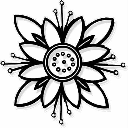 flower coloring pages free printable free printable flower coloring pages for kids best printable coloring free flower pages