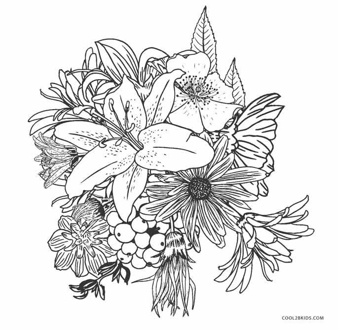 flower coloring sheets free cartoon flowers coloring pages cartoon coloring pages sheets flower free coloring