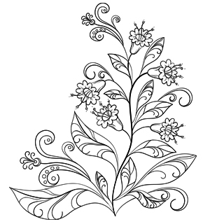 flower patterns to color 12 free printable adult coloring pages for summer patterns to flower color