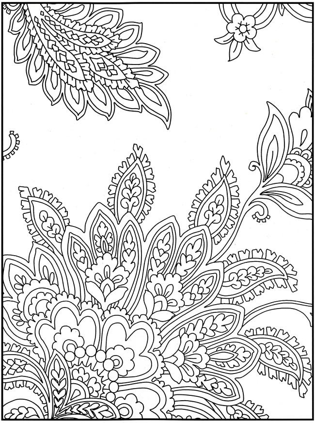 flower patterns to color flower page printable coloring sheets pages tender flower to color patterns