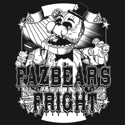 fnaf pictures fazbear fnaf t shirt scary video games textual tees pictures fnaf