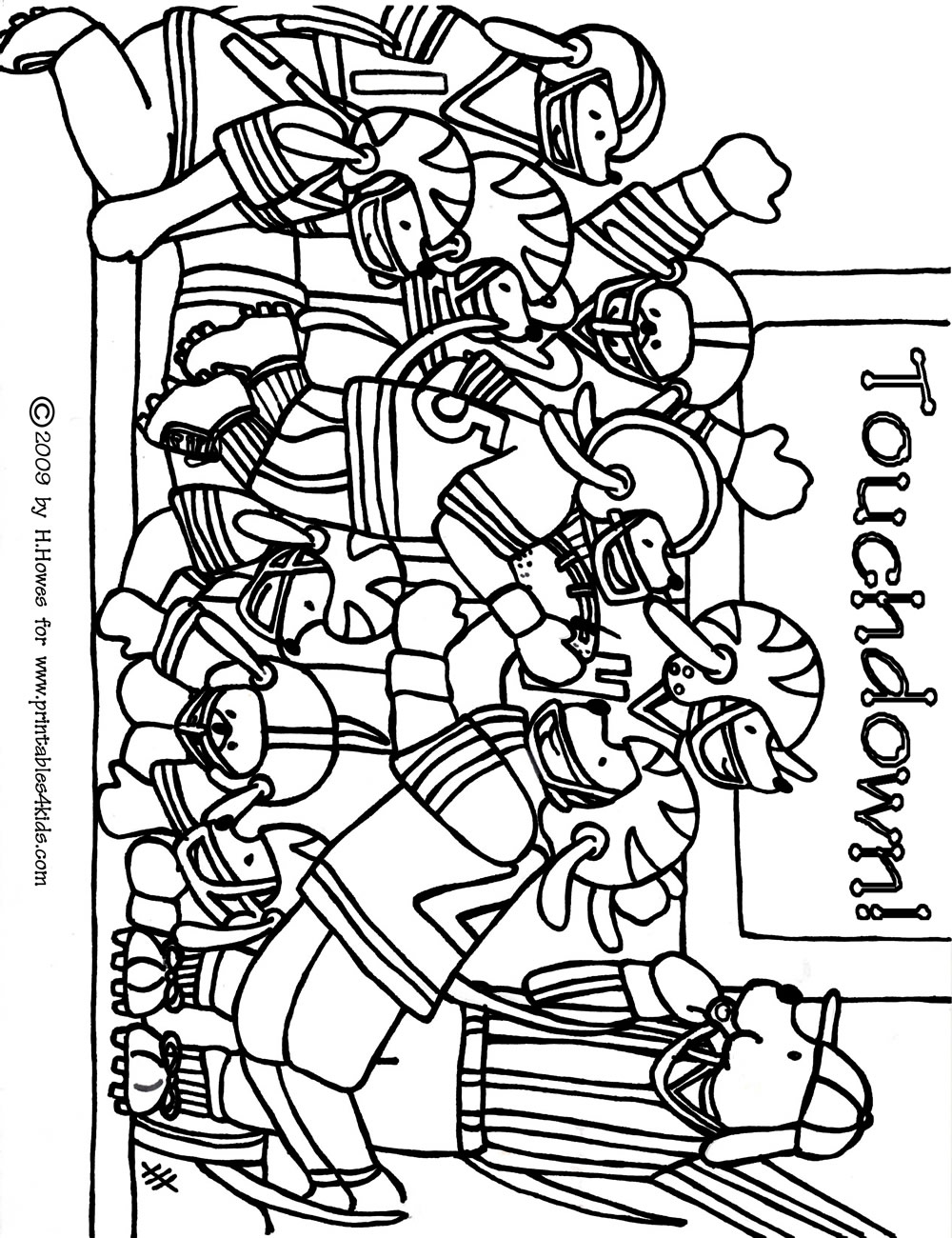 football coloring pages free printable 73 best sports coloring pages images on pinterest pages printable football coloring free
