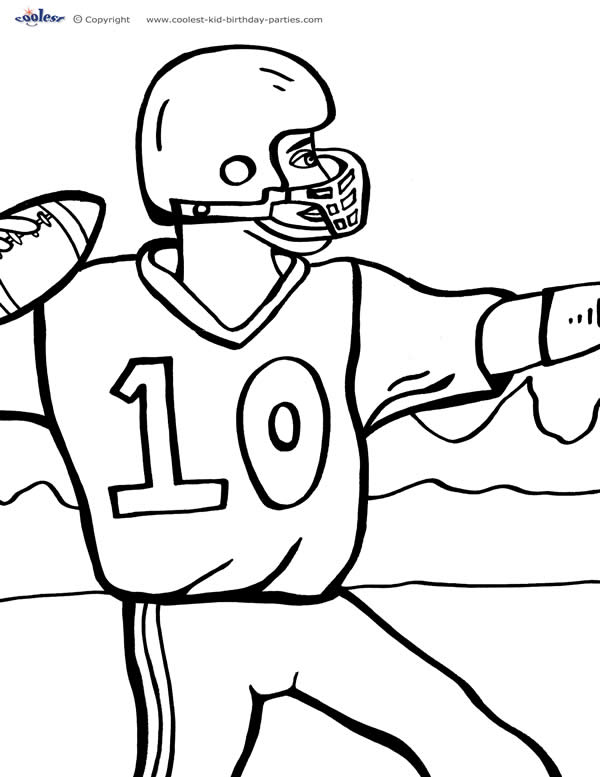 football coloring pages free printable free printable football coloring pages for kids best printable coloring free football pages