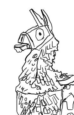 fortnite llama coloring page 24 fortnite llama coloring page southwestdanceacademycom coloring fortnite llama page