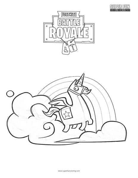 fortnite llama coloring page brite llama fortnite coloring page super fun coloring fortnite coloring page llama