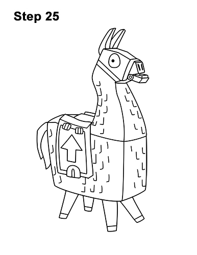 fortnite llama coloring page mr love fortnite llama valentines coloring page get fortnite llama page coloring