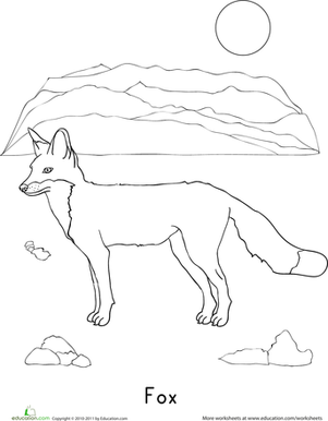 fox coloring pages red fox coloring page free printable coloring pages fox coloring pages