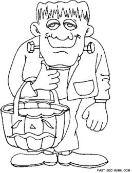 frankenstein coloring book pages 30 free printable cute halloween drawings coloring coloring frankenstein pages book