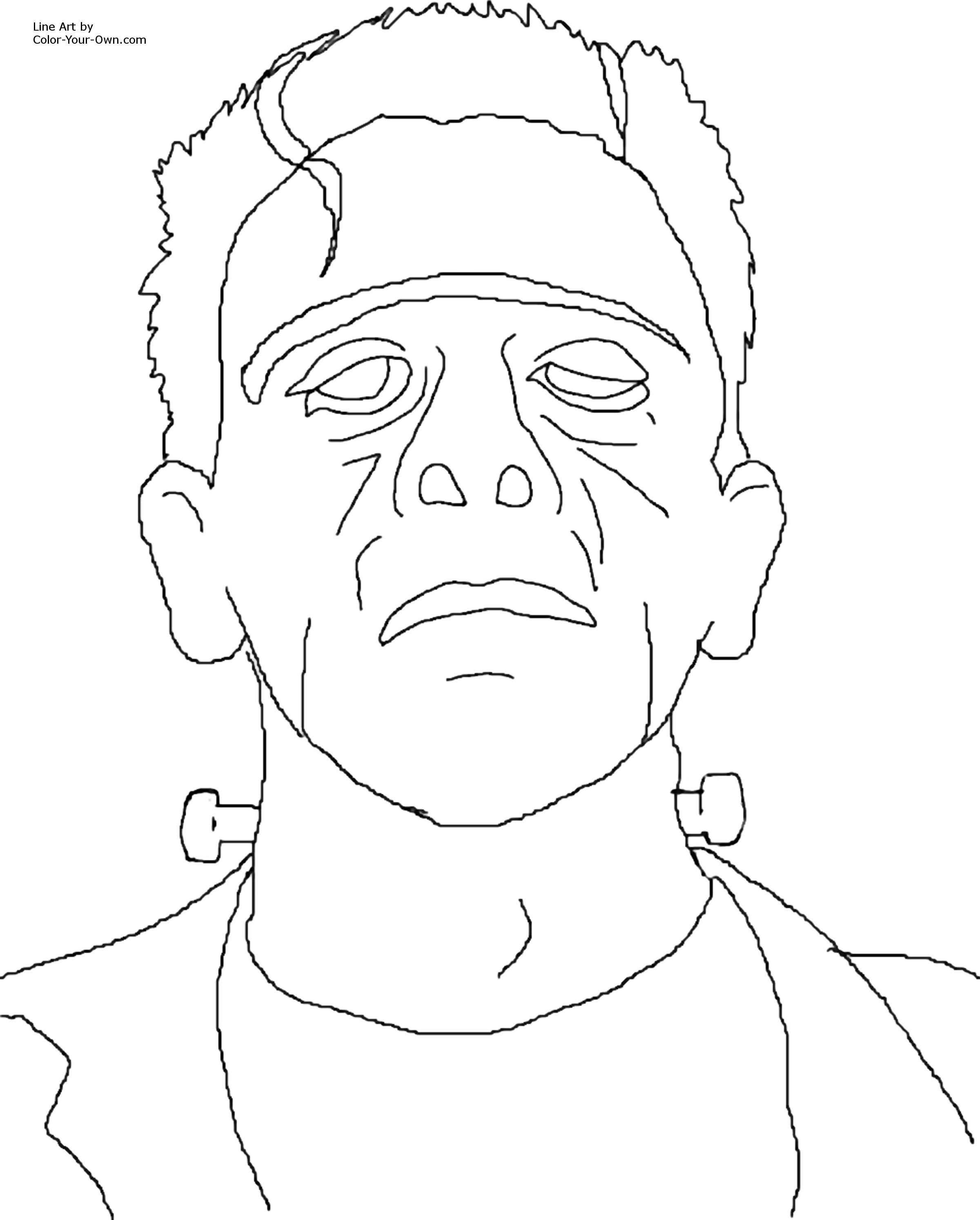 frankenstein coloring book pages plaid stallions rambling and reflections on 3970s pop book frankenstein coloring pages