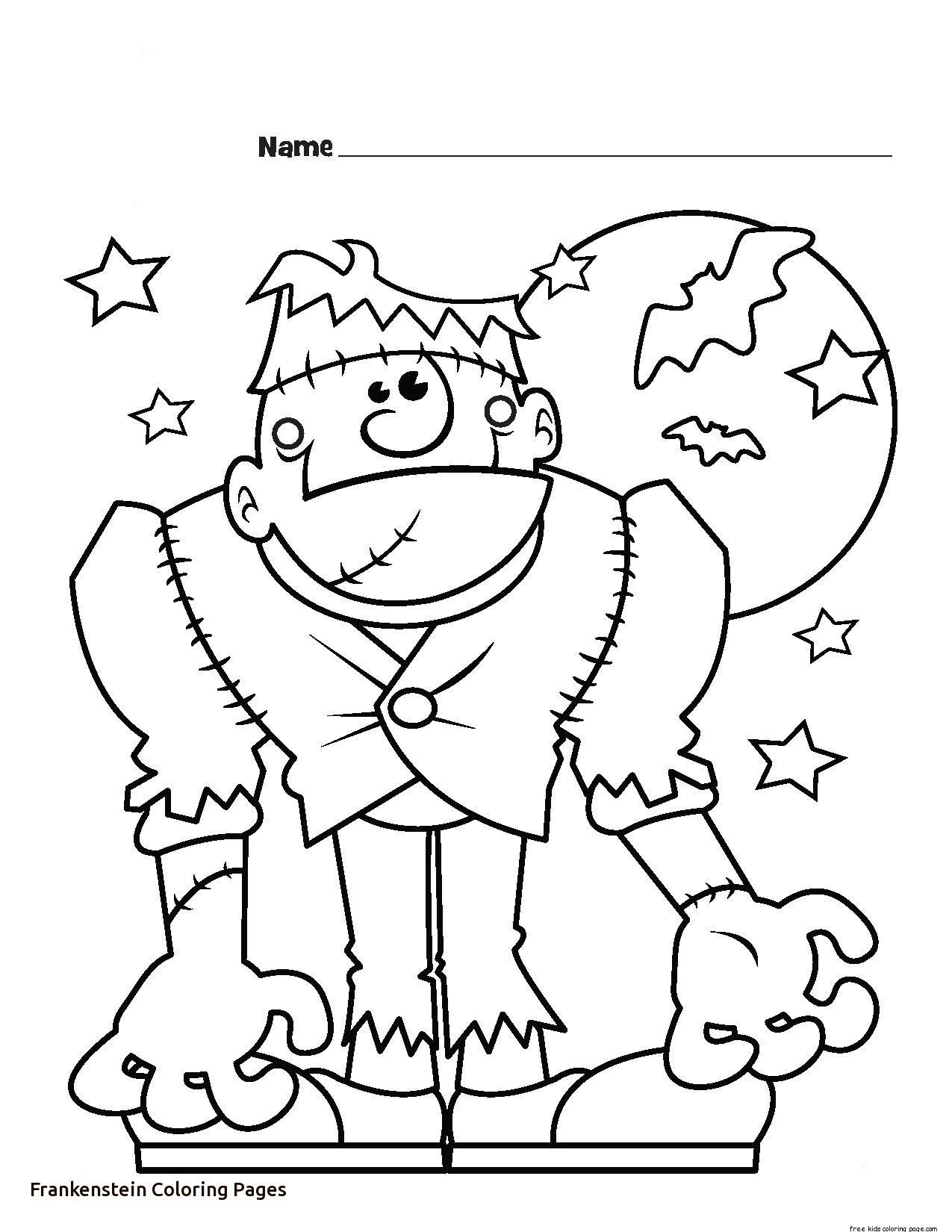 frankenstein coloring book pages scary frankenstein head coloring page free printable book frankenstein coloring pages