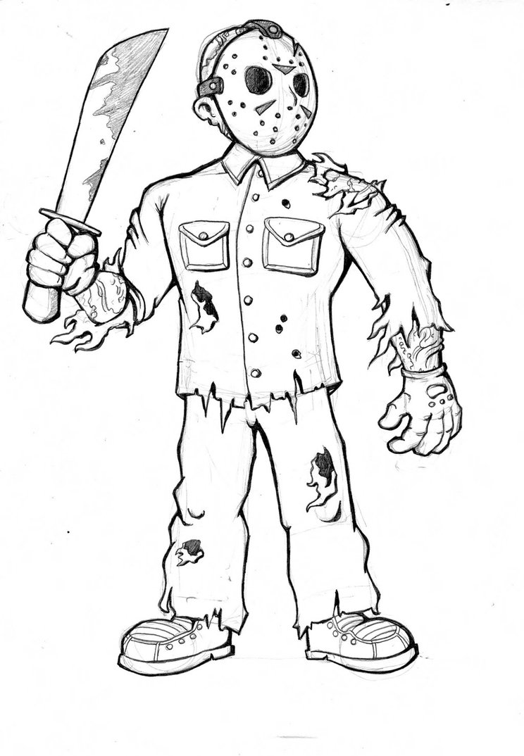 freddy krueger coloring pages 44 amazing works of art inspired by freddy krueger dread krueger pages coloring freddy
