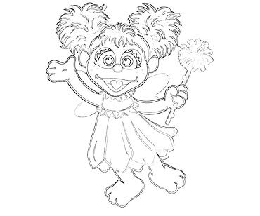 free abby cadabby printables abby cadabby coloring pages 5 sesame street coloring printables abby free cadabby