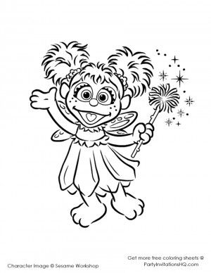free abby cadabby printables sesame street abby pages coloring pages printables abby free cadabby