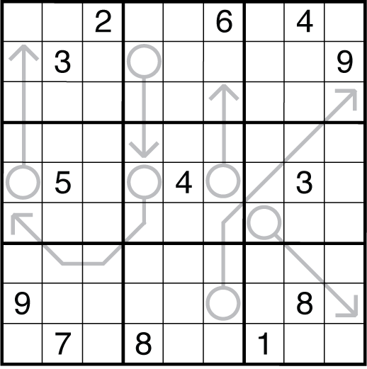 free arrow word puzzles online a cleverly titled logic puzzle blog puzzle 438 straight free word online arrow puzzles