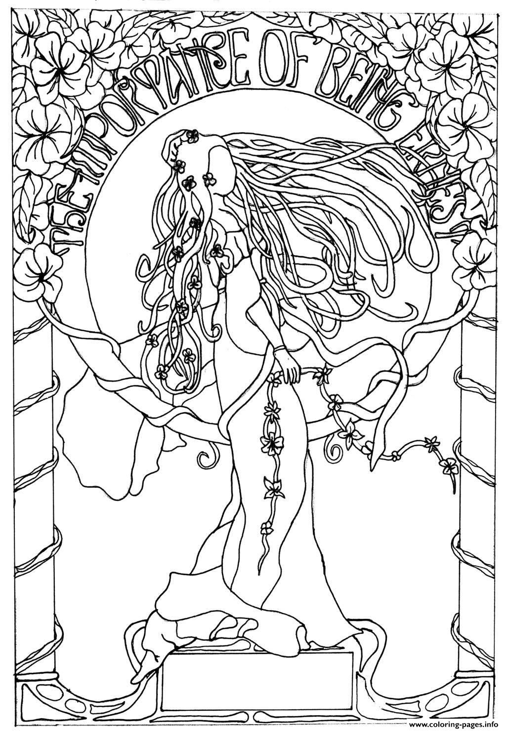 free art coloring pages fractal coloring pages bestofcoloringcom coloring free art pages