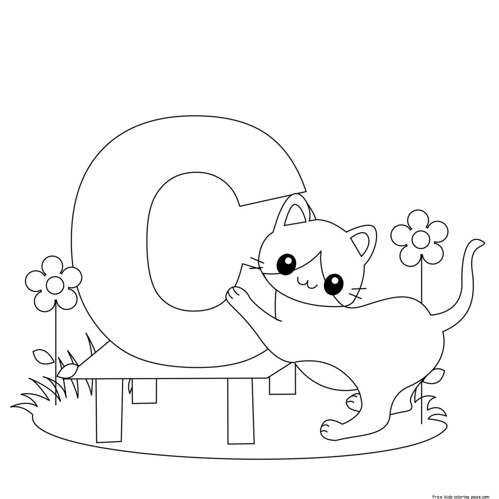 free coloring letters a z alphabet coloring pages download and print for free coloring free letters